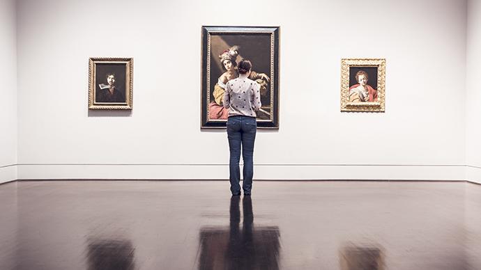 S'inspirer dans une galerie d'art